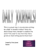 Daily Journals