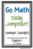 Daily Jumpstart Go Math Daily Morning Work Booklet Chapter 1