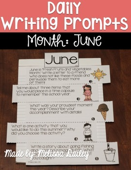Daily Writing Prompts {June}
