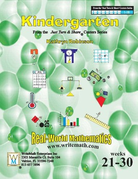 Daily Kindergarten Math Centers (Weeks 21 - 30) | Common Core Aligned Lessons