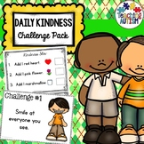 Daily Kindness Challenge Activity Pack