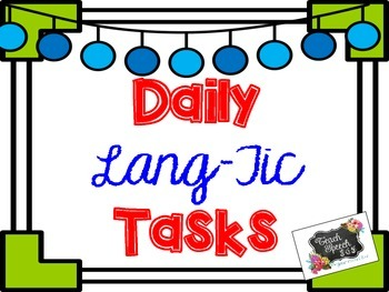 Daily Lang-Tic Tasks: Year's Supply of Lang & Artic Tasks