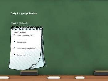 Daily Langauge Review Grade 7 Week 1