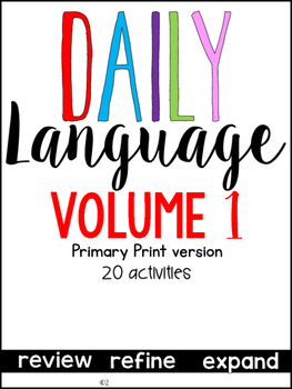 Daily Language 1