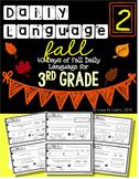 Daily Language 2 (Fall) Third Grade