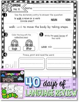 Daily Language 4 (Spring) Second Grade