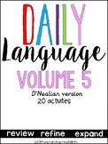 Daily Language 5 D'Nealian