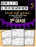Daily Language 5 (End of Year Review) Third Grade