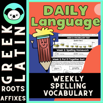 Daily Language Review: 5th Grade