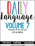 Daily Language 7