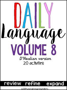 Daily Language 8 D'Nealian