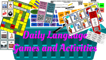 Daily Language Activities and Games
