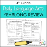 4th Grade Daily Language Arts Spiral Review | Distance Learning