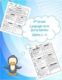 4th Grade Daily Language Arts Spiral Review Bundle (Weeks 1-36)