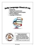 Daily Language Check #1-30