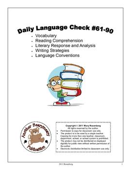 Daily Language Check #61-90