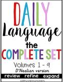 Daily Language D'Nealian Bundle