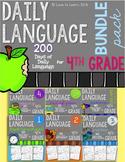 Daily Language Fourth Grade Bundle Pack