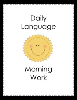 Daily Language Morning Work