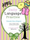 Daily Language Practice: April