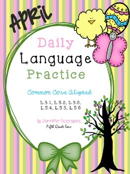 Daily Language Practice: April