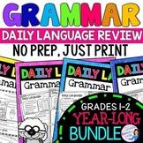 Daily Language Practice BUNDLE Grammar Review, Sets 1-3