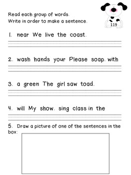 Daily Language Practice BUNDLE!!! PRINT AND GO! CCSS- Morning Work-Bell Ringer!