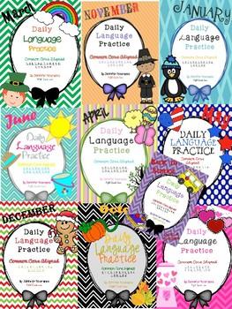 Daily Language Practice Bundle