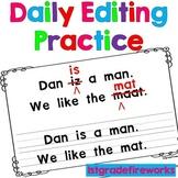 Daily  Language Practice ...FIX IT Sentences