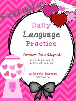 Daily Language Practice: February