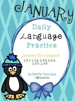 Daily Language Practice: January