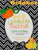 Daily Language Practice: October