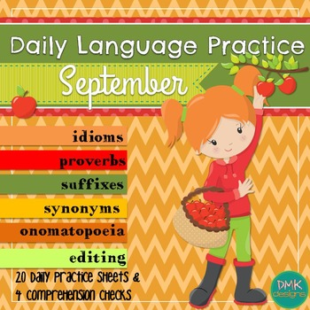 Daily Language Practice -September