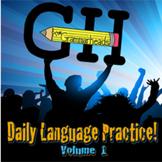 Daily Language Practice! Volume 1 - Educational Grammar Music (full mp3 album)