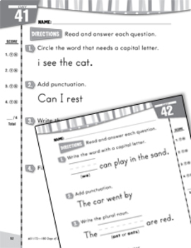 Daily Language Practice for Kindergarten