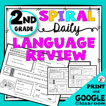 2nd Grade Daily Language Review Warm Up and Homework