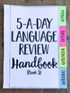 3rd Grade Daily Language Spiral Review Morning Work Editable