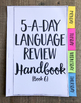6th Grade Daily Language Spiral Review | Morning Work