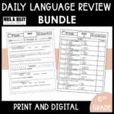 Daily Language Review Bundle | 6th Grade