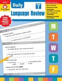 Daily Language Review, Grade 2 - Teacher's Edition, E-book