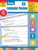Daily Language Review, Grade 3 - Teacher's Edition, E-book