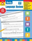 Daily Language Review, Grade 4 - Teacher's Edition, E-book