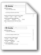 Daily Language Review, Grade 2: Week 12