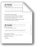 Daily Language Review, Grade 7: Week 15