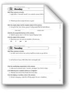 Daily Language Review, Grade 8: Week 15