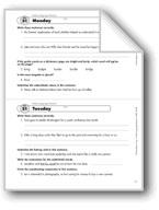 Daily Language Review, Grade 8: Week 21