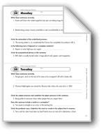 Daily Language Review, Grade 8: Week 29