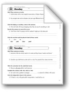 Daily Language Review, Grade 8: Week 35