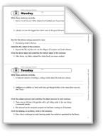 Daily Language Review, Grade 8: Week 5