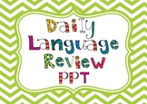 Daily Language Review PPT-Editable, 4th grade Writing Test